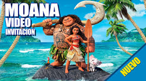 Moana Disney Video Invitacion Youtube