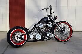 custom bobber motorcycles in