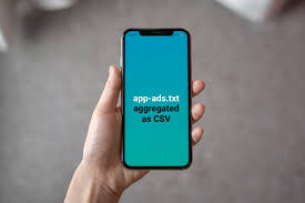 app ads txt aggregated csv files with