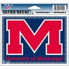 Mississippi Ole Miss Rebels Ultra Decal 5 X 6 Walmart Com Walmart Com