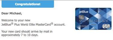 receive from barclaycard jetblue
