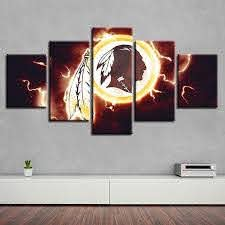 Washington Redskins Wall Art Cheap For Living Room Wall Decor 4 Fan Shop