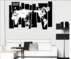 Tree Trunk Wall Decal Sticker Seven Continents World Map Wall Tattoo Poster Home Decoration Wall Applique Graphic Wallpaper Decor Designer Wall Decals Designer Wall Stickers From Magicforwall 7 44 Dhgate Com