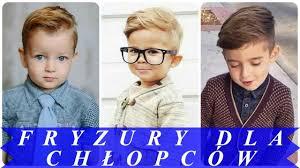 Modne Fryzury Dla Chlopcow 2018 Youtube