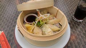 steamed vegetable gyoza picture of