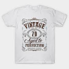 70th birthday gift vine at 70 years