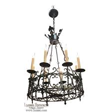 country french wrought iron chandelier