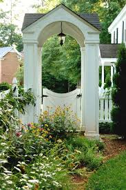 Fence Gate Ideas Landscape Traditional With Gates Wheelbarrows And Garden Carts