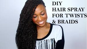 diy moisturizing hair spray twists