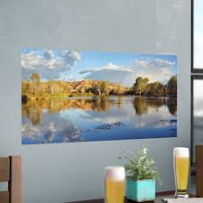 Loon Peak Panoramic Reflections Removable Wall Decal Wayfair