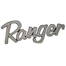 Ranger Boat Emblem Decal 7616131 Silver Vinyl 14 1 2 X 6 Inch