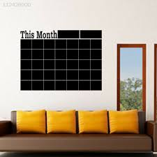 Chalk To Me S Monthly Chalkboard Wall Decal Calendar For Sale Online Ebay