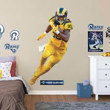 Todd Gurley Ii Los Angeles Rams Fathead Life Size Removable Wall Decal
