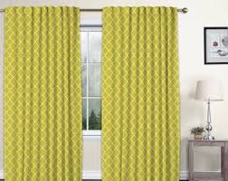 Multicolor Curtains Etsy