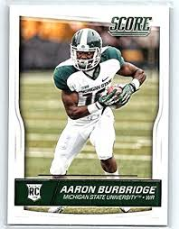 Amazon.com: 2016 Score Rookies #377 Aaron Burbridge RC Football ...