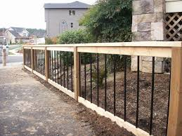Pacific Fence Photo Gallery Of Installations In Portland Or Wood Fence Cedar Posts Wood Fence Installation