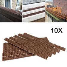 Anti Pigeons Spikes Bird Pest Control Spikes Fence Work For Wild Cat Hici Home And Garden