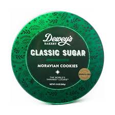 clic sugar moravian cookie round