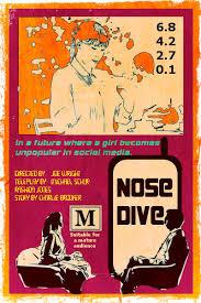 vintage poster of nosedive