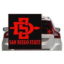 San Diego State Aztecs Ncaa College Vinyl Sticker Decal Car Window Wall