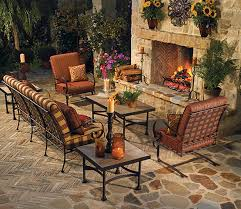 o w lee absco fireplace patio
