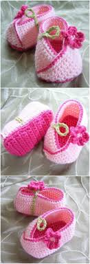 Crochet Kimono Baby Shoes Pattern | The WHOot