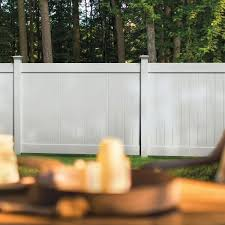 Veranda Linden 5 In X 5 In X 9 Ft White Vinyl Routed Fence Line Post 73013030 The Home Depot