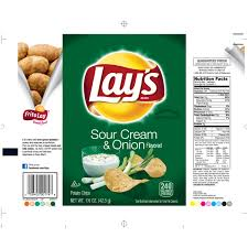 bag baked lays chips nutrition facts