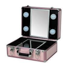 rolling makeup case with lightirror uk
