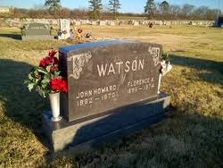 Florence Ada Lawson Watson (1896-1974) - Find A Grave Memorial