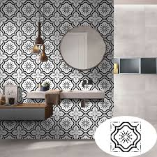 Home Decor 1 Roll Self Adhesive Tile Art Wall Decal Sticker Diy Kitchen Bathroom Decor Vinyl Wall Sticker Home Deco Mirror Wall Stickers Aliexpress