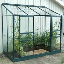 Vitavia Ida Green Framed Wall Garden 8X4 | Garden Street