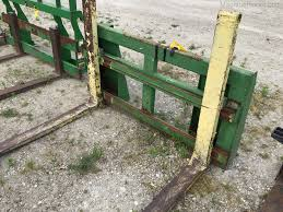 home made homemade pallet forks bale
