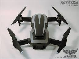 Dji Mavic Air Racing Stripes With Battery Decals Number 1 3 Etsy