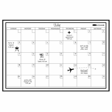 Wall Pops Wpe0447 24 Inch By 36 Inch Peel And Stick Dry Erase Monthly Calendar Decal For Sale Online Ebay