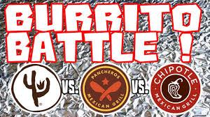 burrito battle food review qdoba