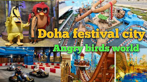 Doha Festival City / Angry Birds World / World Class Entertaiment ...