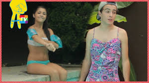 pool party fails with andrea russett