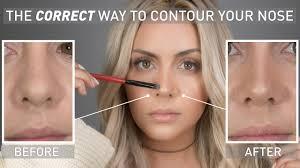 goss makeup nose contouring saubhaya