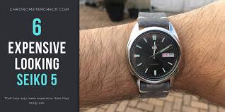 6 of the best looking seiko 5 watches