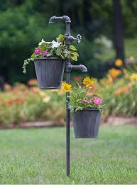 com ctw flower garden stakes