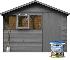 ronseal 9l fence life plus garden shed