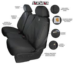 carhartt duck weave seat covers with
