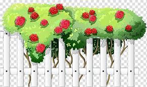 Artificial Flower Watercolor Paint Wet Ink Rose Plant Cut Flowers Fence Transparent Background Png Clipart Hiclipart