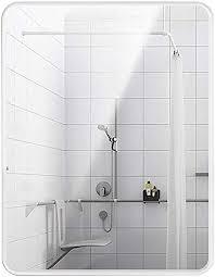 bathroom mirror rectangle frameless
