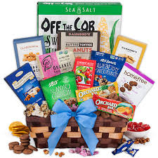 healthy gift baskets by