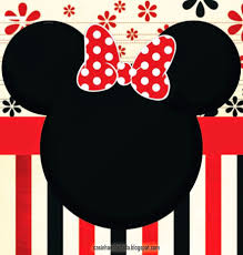 Kit Para Imprimir Gratis De Minnie Mouse En 2020 Invitaciones