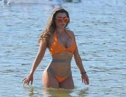 IN PICS Towie Star Abigail Clark Shows Off on The Beach ...