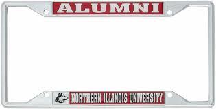 University Of Illinois Fighting Illini Alumni Metal License Plate Frame New Auto Car Truck