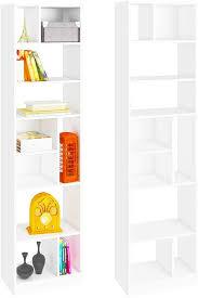 efd tall narrow bookcase 10 shelf